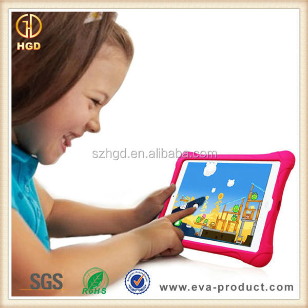 Ultra Light Weight Kids Shockproof EVA Back Cover Case for iPad 2 3 4
