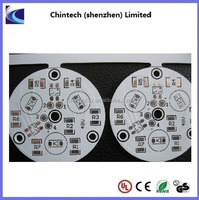 1.6mm White Solder Mask Double side Aluminium PCB
