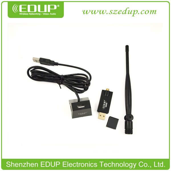 Realtek8191SU Chipset 300Mbps EDUP Wireless USB Network TV WiFi High-Definition Portable LAN Card Adapter EP-MS8521