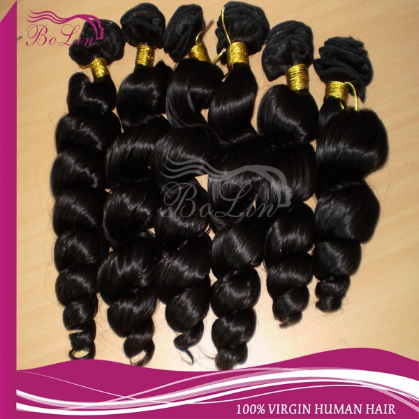Wholesale Cheap Natural Virgin Brazilian Spiral Curl Hair Extensions