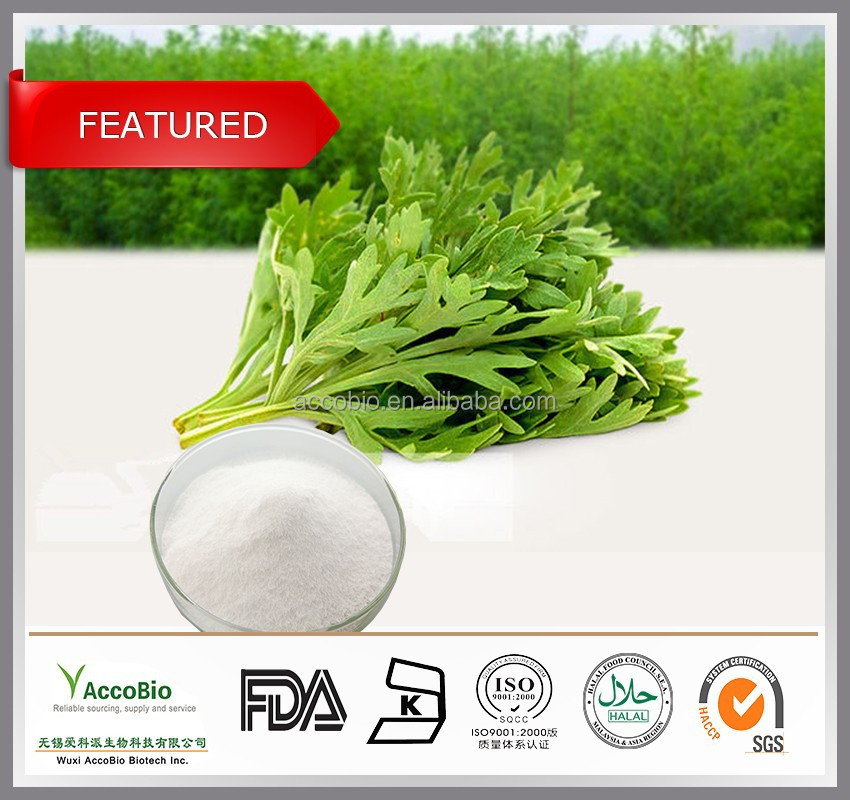 100% Natural Sweet wormwood extract Artemisinin 99%/Artemisinin powder/Artemisinin cancer, CAS no.63968-64-9