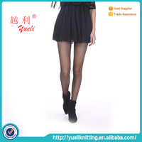 Japanese see through velvet warm sexy women party dress pantyhose