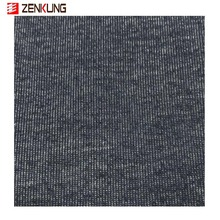 new design 55% cotton 40% polyester 5% spandex imitated denim jersey knit fabric for t shirt