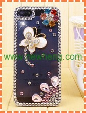 new arrive ! butterfly diamond accessries case for iphone5