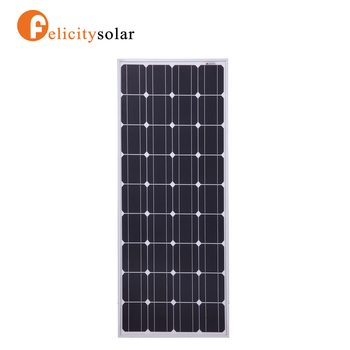 High Efficiency Monocrystalline Solar Panel solar energy systems uses 100W mono solar cells, solar panels