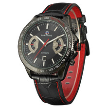 Description of Black Style Leather Band Oem Men Watch