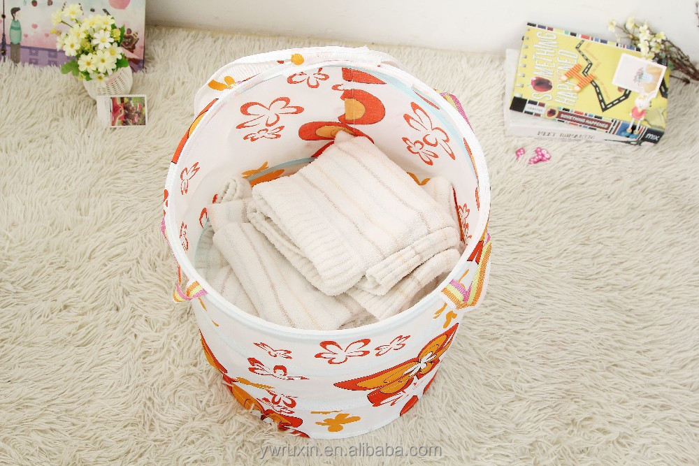 Collapsible Easy Open Hamper Laundry Basket