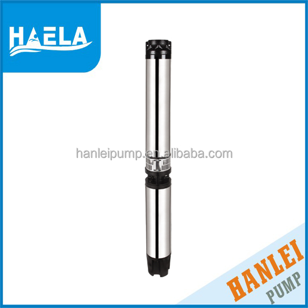 4kw 6SRM10/8 deep well submersible pumps for wells
