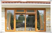 upvc top hung window with double glass China