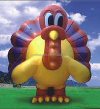 2015 hot sale giant inflatable animal for advertising, inflatable Turkey Bird