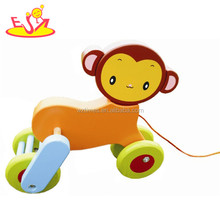 wholesale top fashion children wooden drag toy baby cute wooden dragon toy kids superior wooden dragon toy W04A057