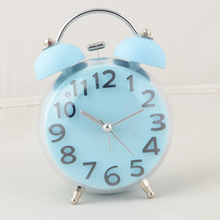 China manufacturer two bell ring alarm clock