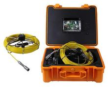 120m ABS box sewer drain pipe inspection camera Underground well camera with push rod cable