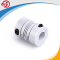 OD25mm 6.35*6.35mm bore flexible beam coupling