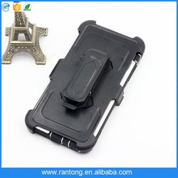 Best selling strong packing belt clip holster hybrid phone case wholesale