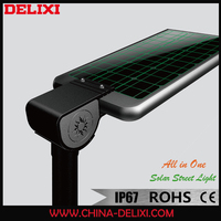 PIR sensor IP67 solar led decorative street lights with CE and RoHS certification