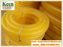yellow pvc pipe /pvc water hose / pvc helix tube