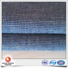 double face brush slub cotton yarn dyed woven fabric for pants