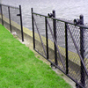 Hot Dipped Galvanized PVC Coated Aluminum Chain Link Fence