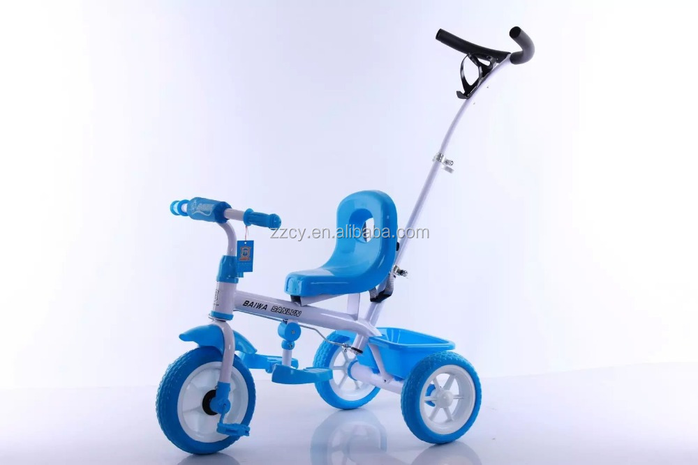 2015 new mini kids tribike with pushing hands/tricycle for children factory wholesale