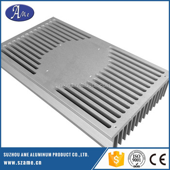extrusion aluminum led cnc machining heatsink