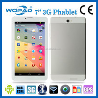 "Cheap 7"" 3G tablet PC MTK6572 Dual-Core with Android OS 4.4"