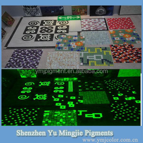 Ceramic Tile Glow Pigment
