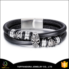 Jewelry Bracelet Metal Bracelet Women Sex Animals Stainless Steel Leather Bracelet