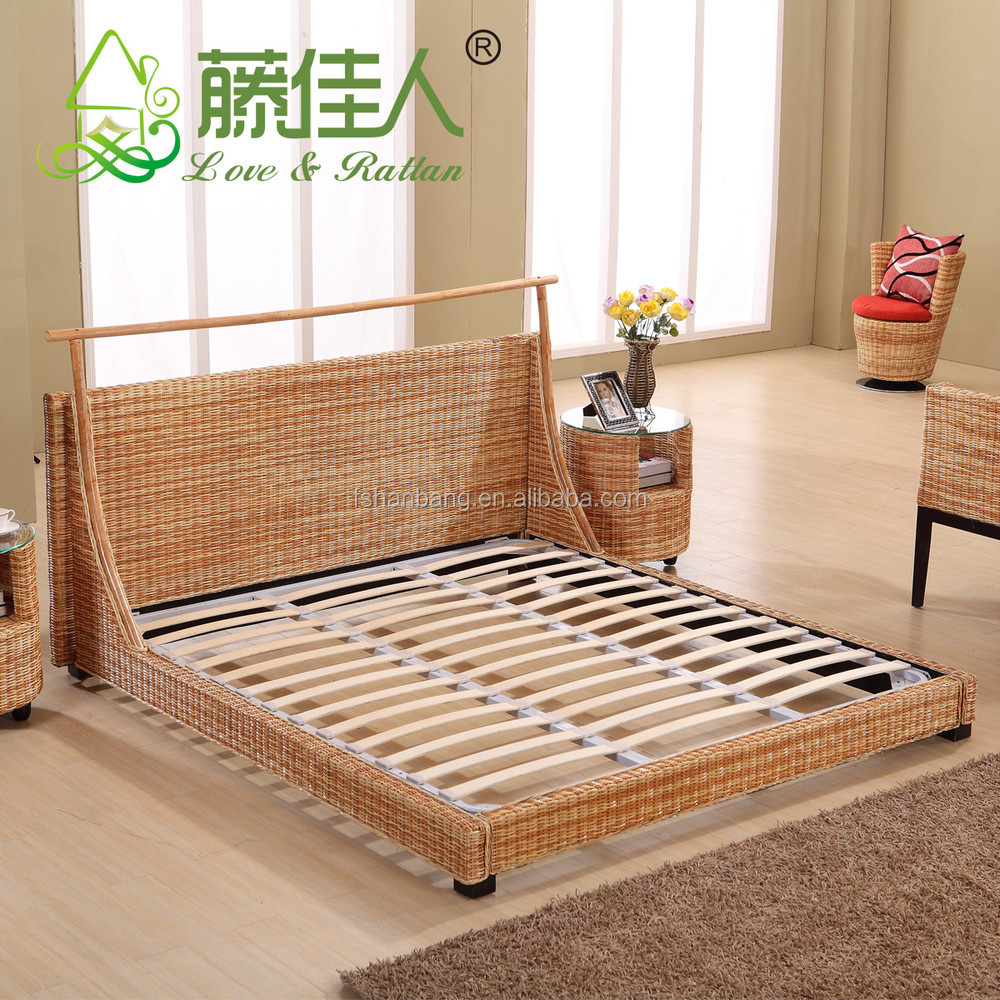 Cheap wicker bedroom furniture buy natural rattan for Buy furniture for cheap