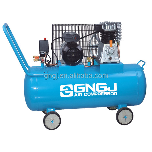 50L 2HP piston portable diving air compressor directly supply