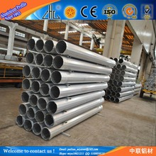 Customized aluminum pipe specifications / aluminum telescopic square tube / aluminium pipe diameter 250mm
