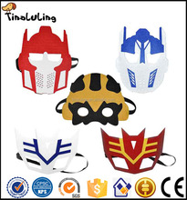 The new masquerade masks children cartoon Transformers mask