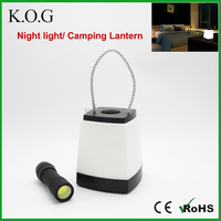 Battery Powered COB Night Light as Home Decoration Lighting