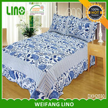 microfiber bed cover / baby bedding set/ patchwork quilts