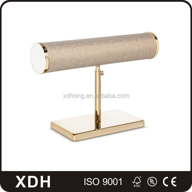 High end customized metal jewelry display props decorative jewelry holder