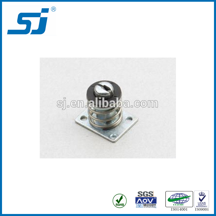 High quality metal cabinet hasp lock with spring toggle bolts