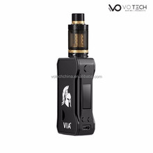 VO TECH vape starter kit 3ml CKS no.09 atomizer gold coil vaporizer sub ohm e-cigarette tank
