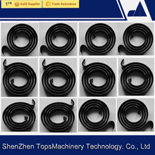 Flat volute bimetal spiral coils springs , OEM bimetal thermometer coils for thermal