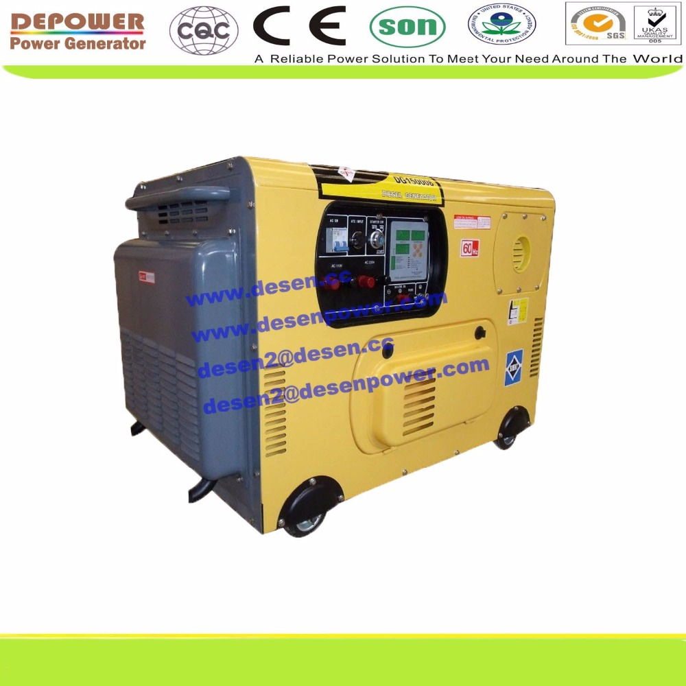 New design 15kva 12kw 0.5cbm silent diesel generator with V twin air cooled