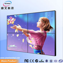 2x2 video wall controller 55 inch professional ultra narrow bezel with samsung lcd video wall