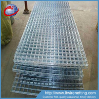 Factory suply high quality galvanized and pvc coated welded wire mesh (click here have surprise)