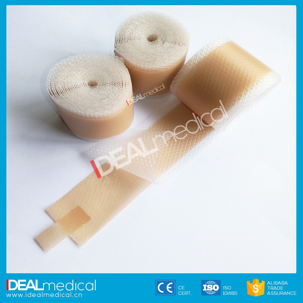 Best selling soft silicone tape for scars/China Silicone Gel