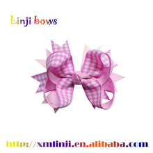wholesale grosgrain ribbon boutique hair bows with clips, boutique hair clips, boutique hair bows