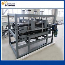 100industrial frp corrugated sheet machine /fiberglass prepreg sheet making machine