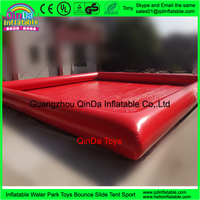 Guangzhou QinDa Inflatable Square Swimming Pool Water Game Pool for Kids