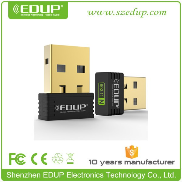 Much cheaper usb wifi adapter for ipad/iphone/ipod	150Mbps EDUP EP-N8553