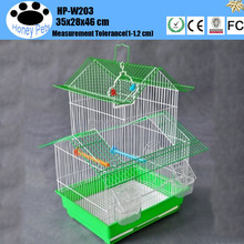 Hot sale materials medium wooden parrot bird house.