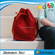 Alibaba new model fancy tote bag/handbag popular customized felt ladies shoulder bag with low price