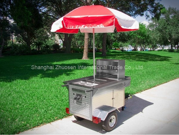 Franchise Business Philippinesg Big Wheels Hot Dog & Gas Food Cart Trailer Business ZS-HT110 A