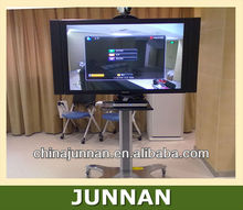 Movable TV Stand TV Cart / Plasma LCD TV Trolley Stand / Mobile TV Stand with Wheels